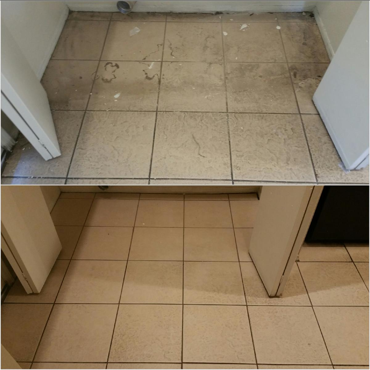 Before and After - Tile and Grout Cleaning AZ